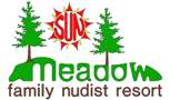 Potluck Mezzanine Party @ Sun Meadow Family Nudist Resort | Worley | Idaho | United States