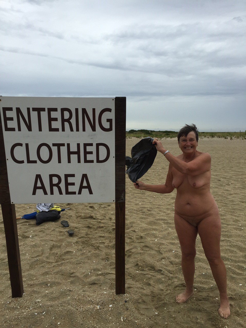 Sandy-Hook-Beach-in-New-Jersey-Title…Gotta-be-nude-on-the-side.