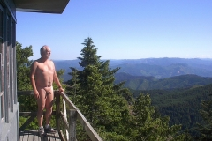 Lookout hike in Oregon